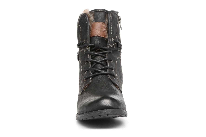 Bottines et boots Tom Tailor Sophia Noir vue portées chaussures