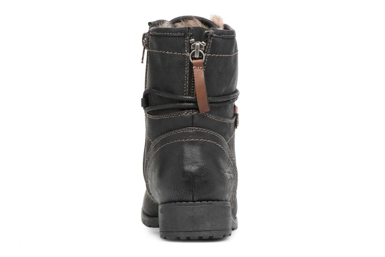 Bottines et boots Tom Tailor Sophia Noir vue droite