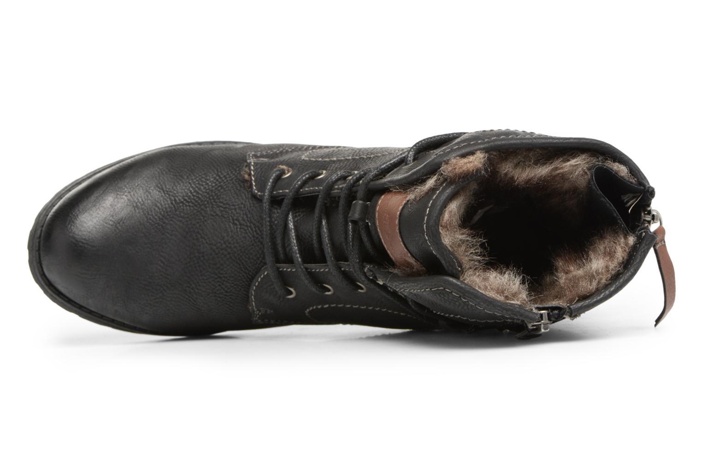 Bottines et boots Tom Tailor Sophia Noir vue gauche