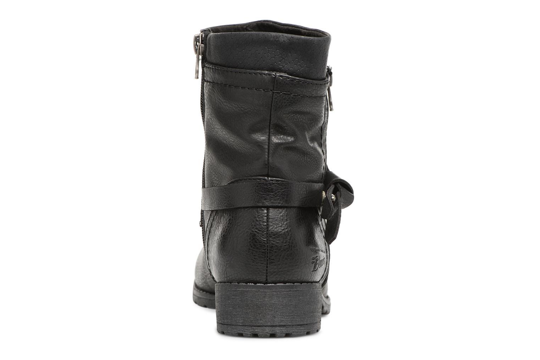 Bottines et boots Tom Tailor Rachel Noir vue droite