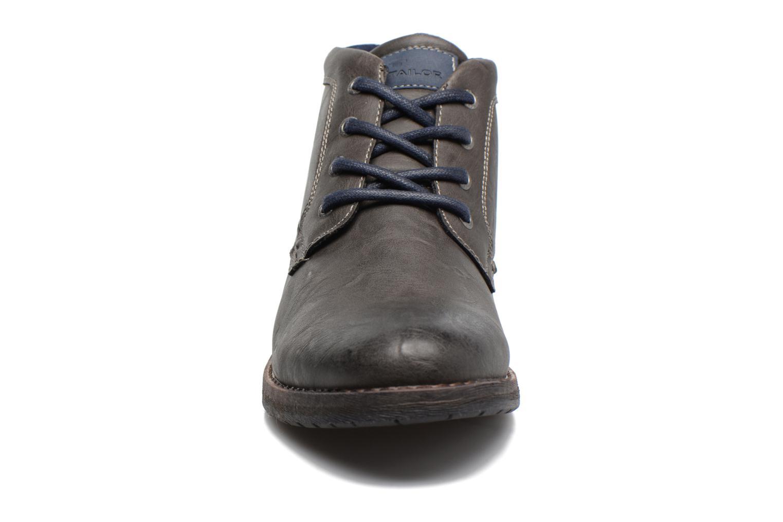 Stiefeletten & Boots Tom Tailor Léonce grau schuhe getragen