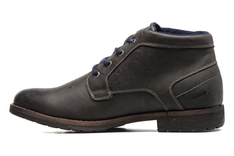 Stiefeletten & Boots Tom Tailor Léonce grau ansicht von vorne