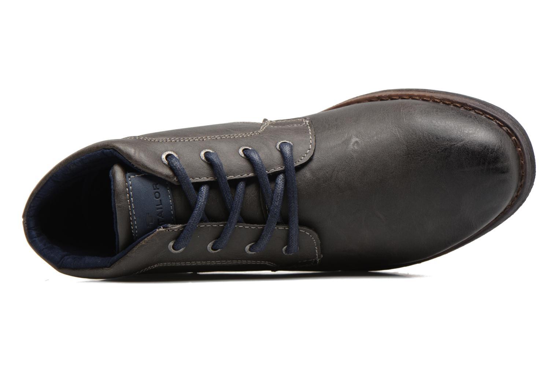 Stiefeletten & Boots Tom Tailor Léonce grau ansicht von links