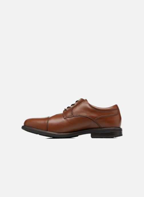 Chaussures à lacets Rockport Esntial Dtl II Cap Toe Marron vue face