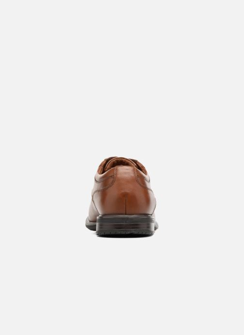 Lace-up shoes Rockport Esntial Dtl II Cap Toe Brown view from the right