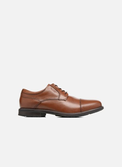 Lace-up shoes Rockport Esntial Dtl II Cap Toe Brown back view