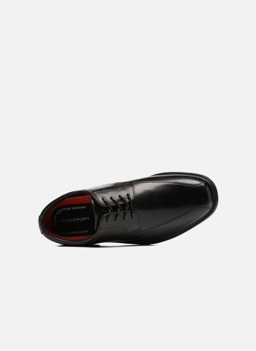 Chaussures à lacets Rockport Esntial Dtl II Bike Ox Noir vue gauche