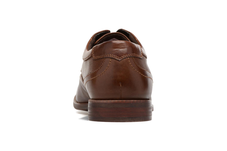 Zapatos con cordones Rockport SP Perf Wingtip Marrón vista lateral derecha