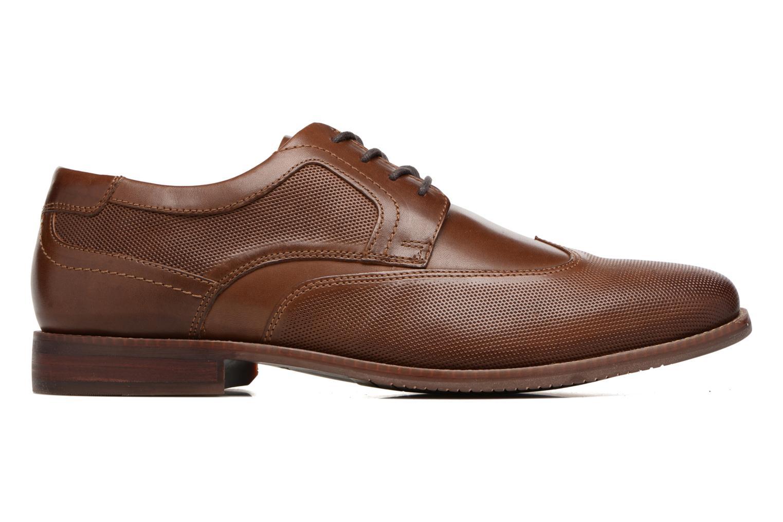 Zapatos con cordones Rockport SP Perf Wingtip Marrón vistra trasera
