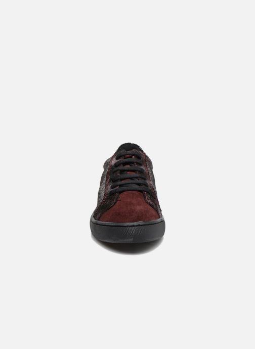Baskets Georgia Rose Cemoi Bordeaux vue portées chaussures