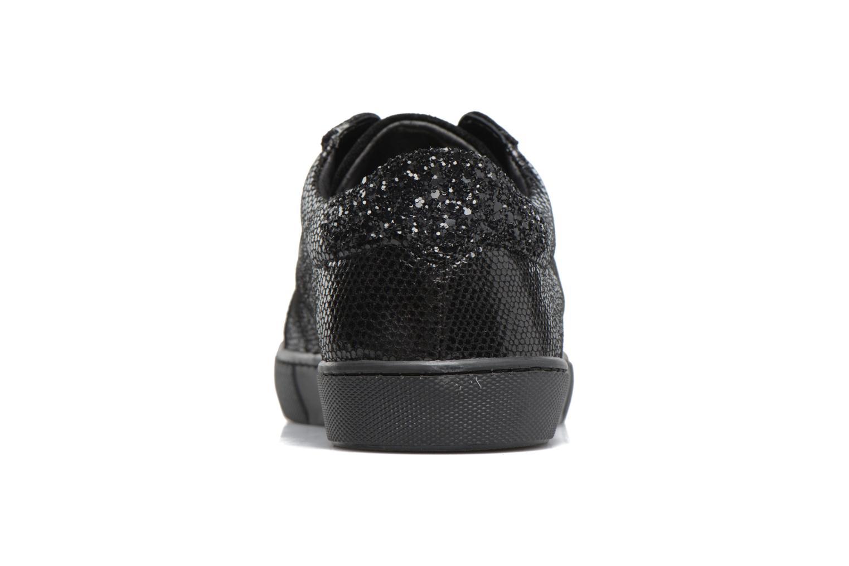 Sneakers Georgia Rose Cemoi Zwart rechts
