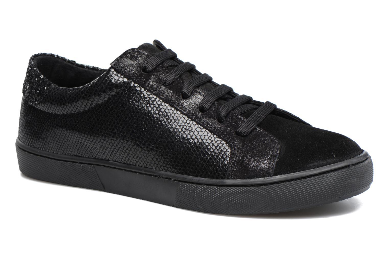 Sneakers Georgia Rose Cemoi Zwart detail