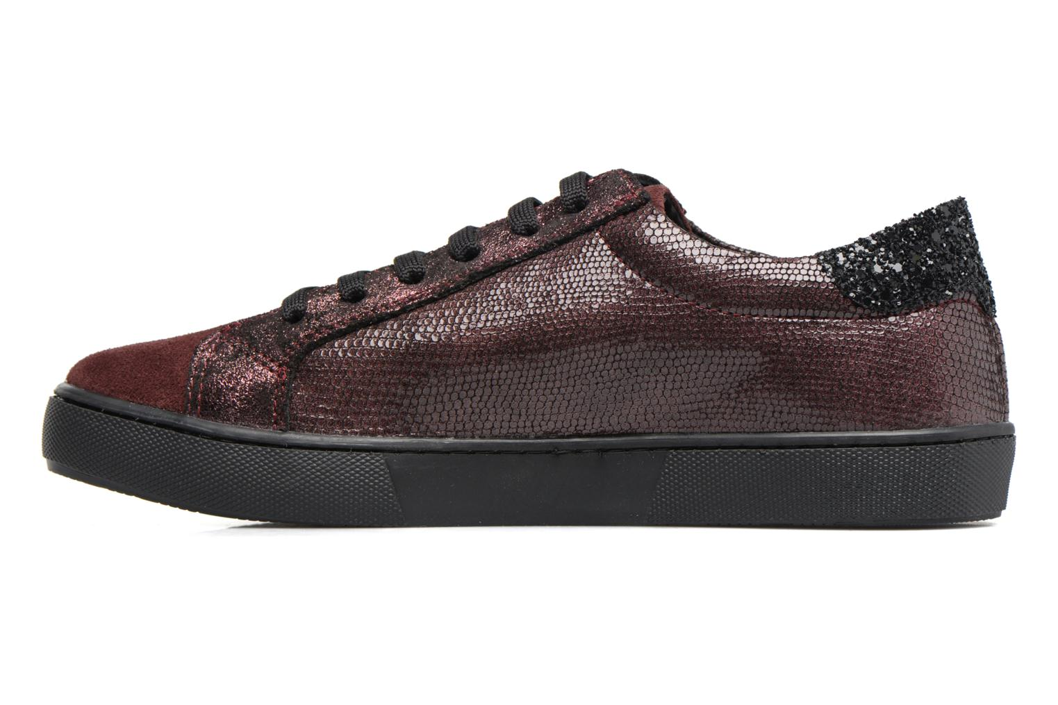 Trainers Georgia Rose Cemoi Burgundy front view