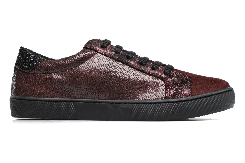 Sneakers Georgia Rose Cemoi Bordeaux achterkant
