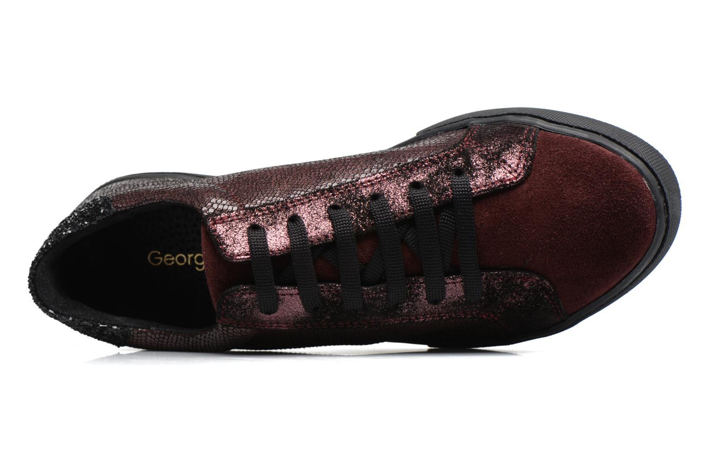Sneakers Georgia Rose Cemoi Bordeaux links