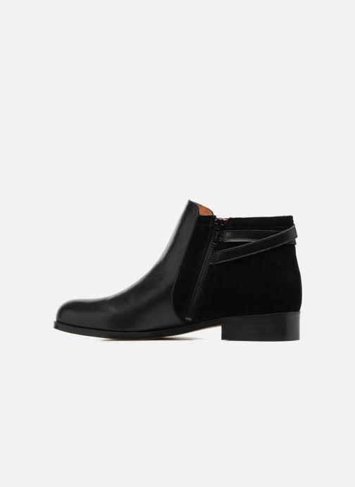 Bottines et boots Georgia Rose Carboucle Noir vue face