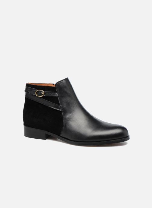 Bottines et boots Georgia Rose Carboucle Noir vue détail/paire