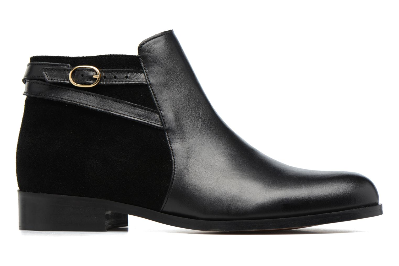 Bottines et boots Georgia Rose Carboucle Noir vue derrière