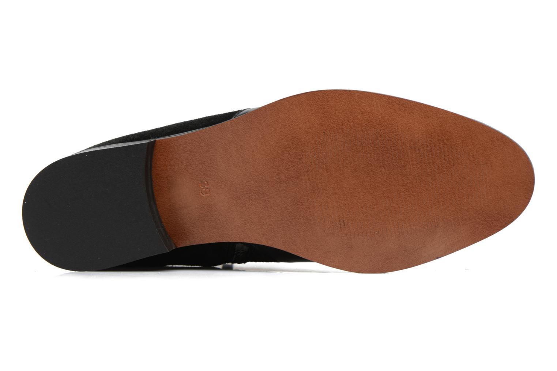 Bottines et boots Georgia Rose Carboucle Noir vue haut