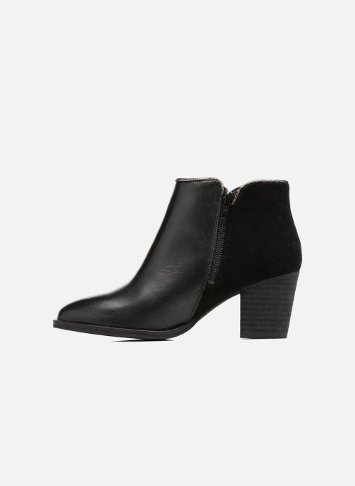 Bottines et boots Georgia Rose Catalon Noir vue face