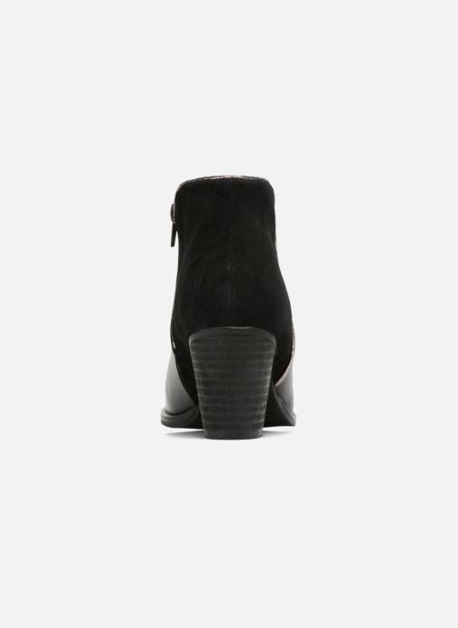 Bottines et boots Georgia Rose Catalon Noir vue droite