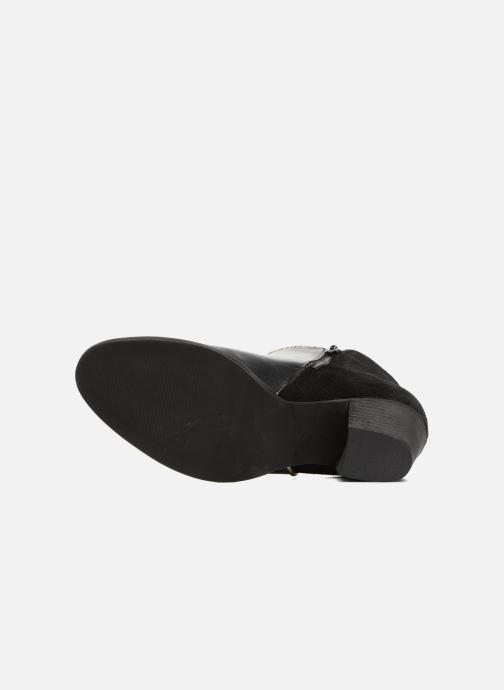 Bottines et boots Georgia Rose Catalon Noir vue haut
