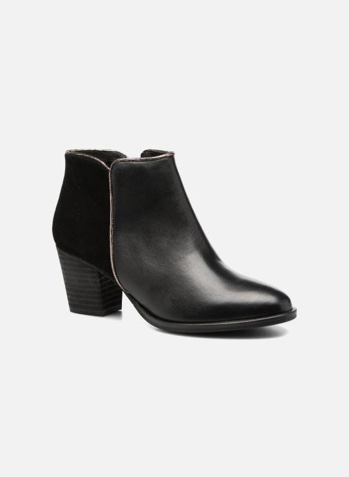 Bottines et boots Georgia Rose Catalon Noir vue détail/paire