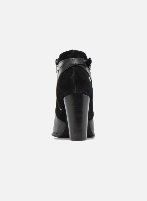 Bottines et boots Georgia Rose Cefema Noir vue droite