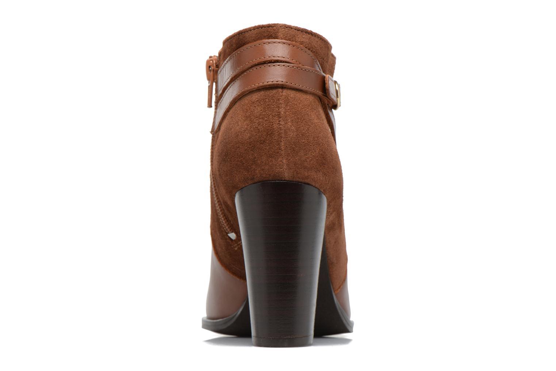 Bottines et boots Georgia Rose Cefema Marron vue droite