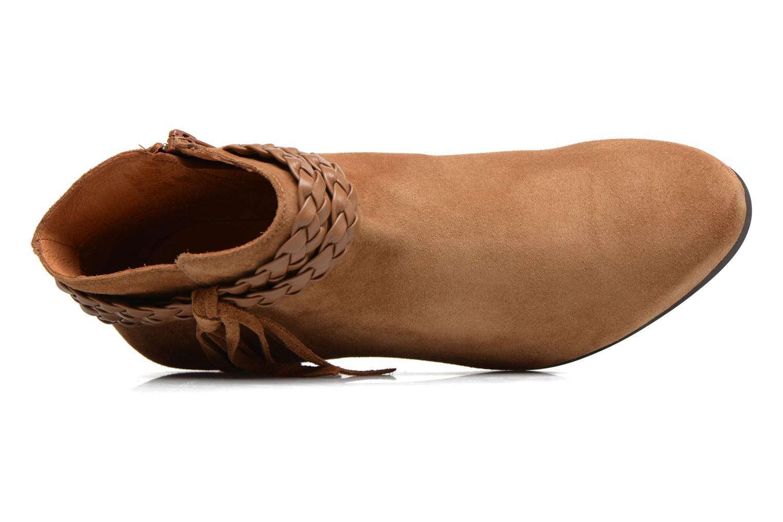 Bottines et boots Georgia Rose Cewest Marron vue gauche