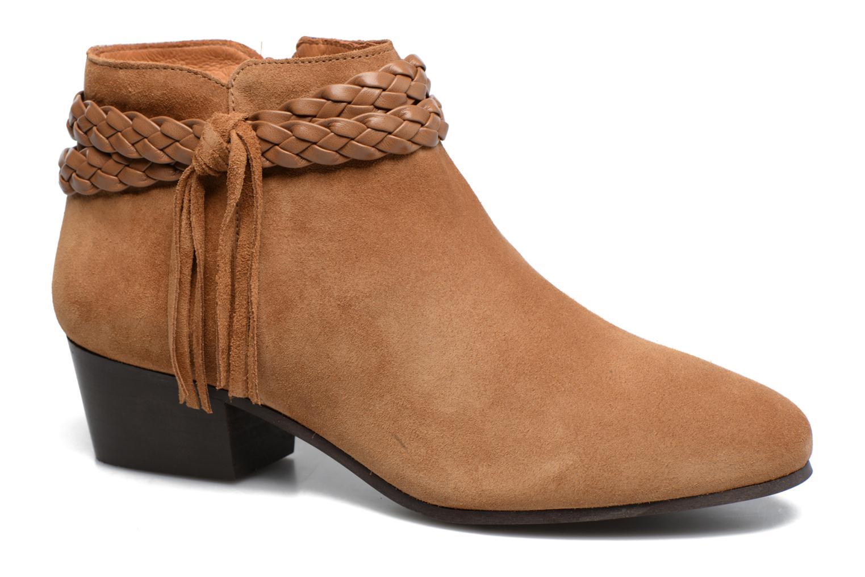 Bottines et boots Georgia Rose Cewest Marron vue détail/paire