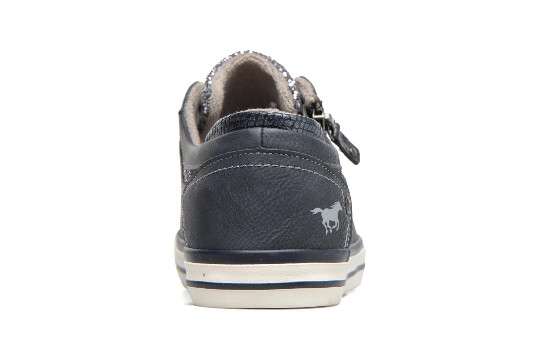 Baskets Mustang shoes Jefi Bleu vue droite
