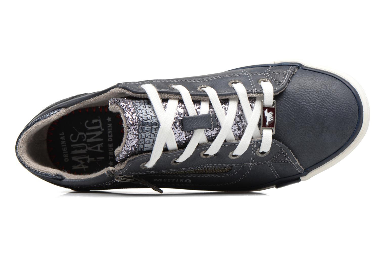Baskets Mustang shoes Jefi Bleu vue gauche