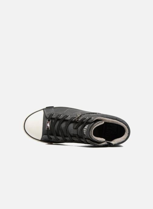 Baskets Mustang shoes Eper Gris vue gauche