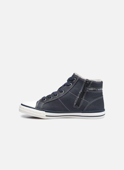 Sneaker Mustang shoes Eper blau ansicht von vorne