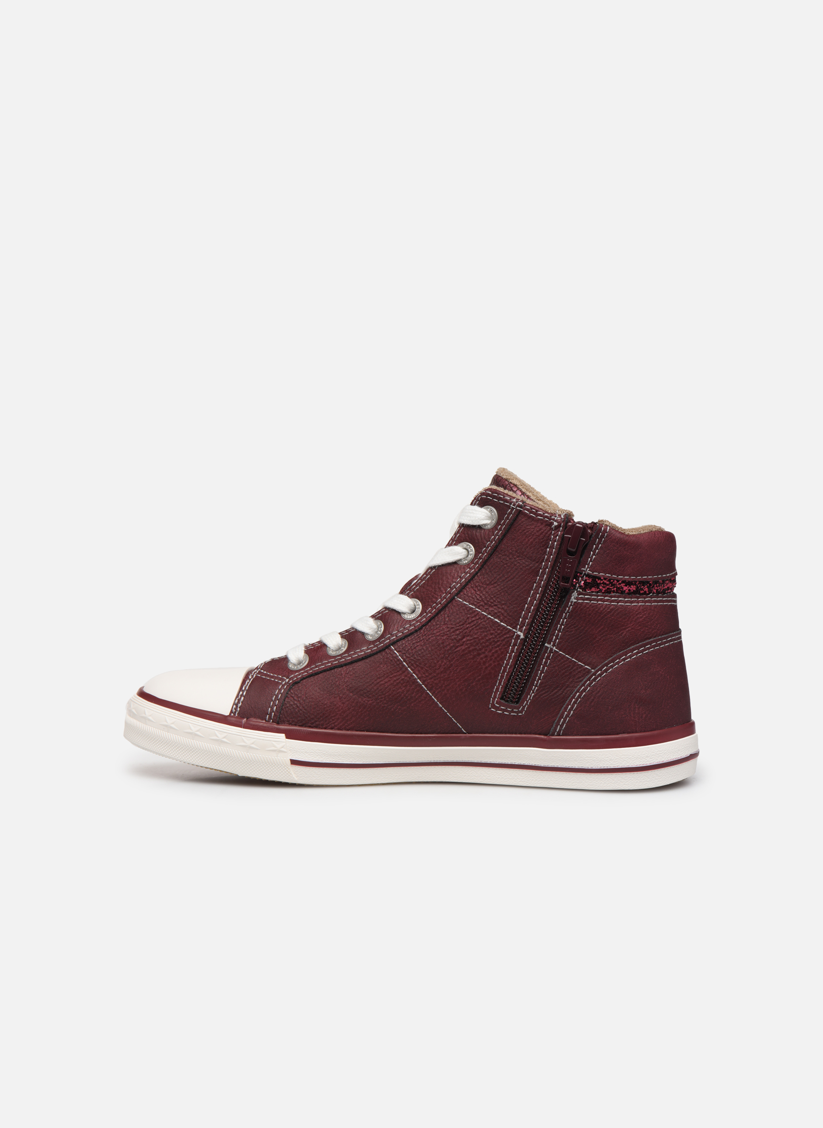 Trainers Mustang shoes Eper Burgundy front view