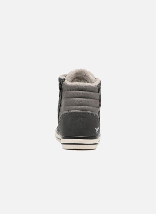 Chez Elia Baskets gris Mustang Shoes I0B45Y