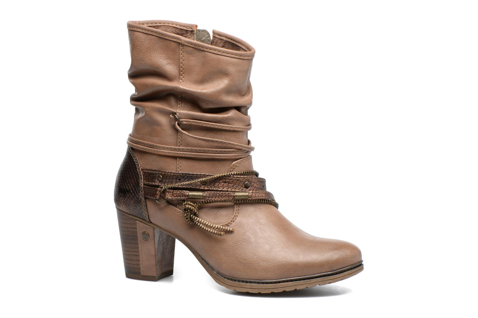 Ankle boots Mustang shoes Louison 2 Brown detailed view/ Pair view