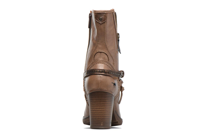 Bottes Mustang shoes Taia Marron vue droite