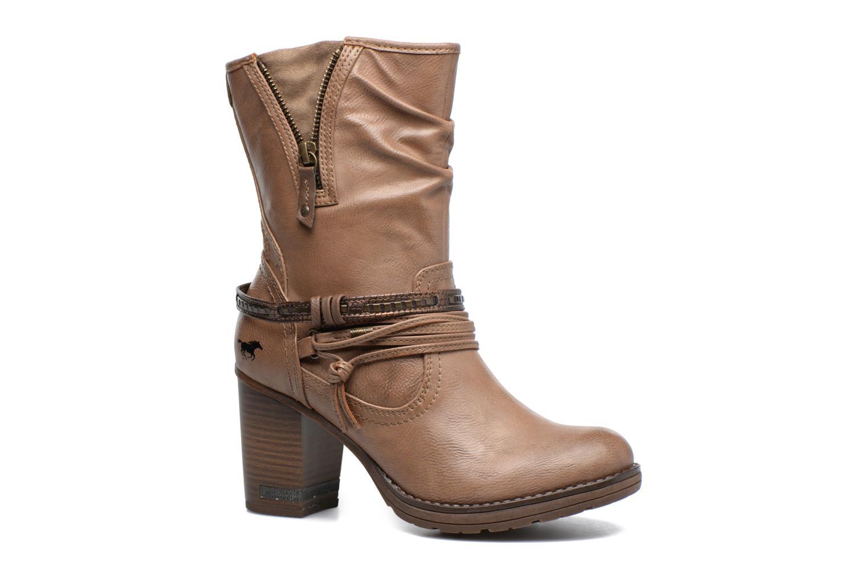 Bottes Mustang shoes Taia Marron vue détail/paire