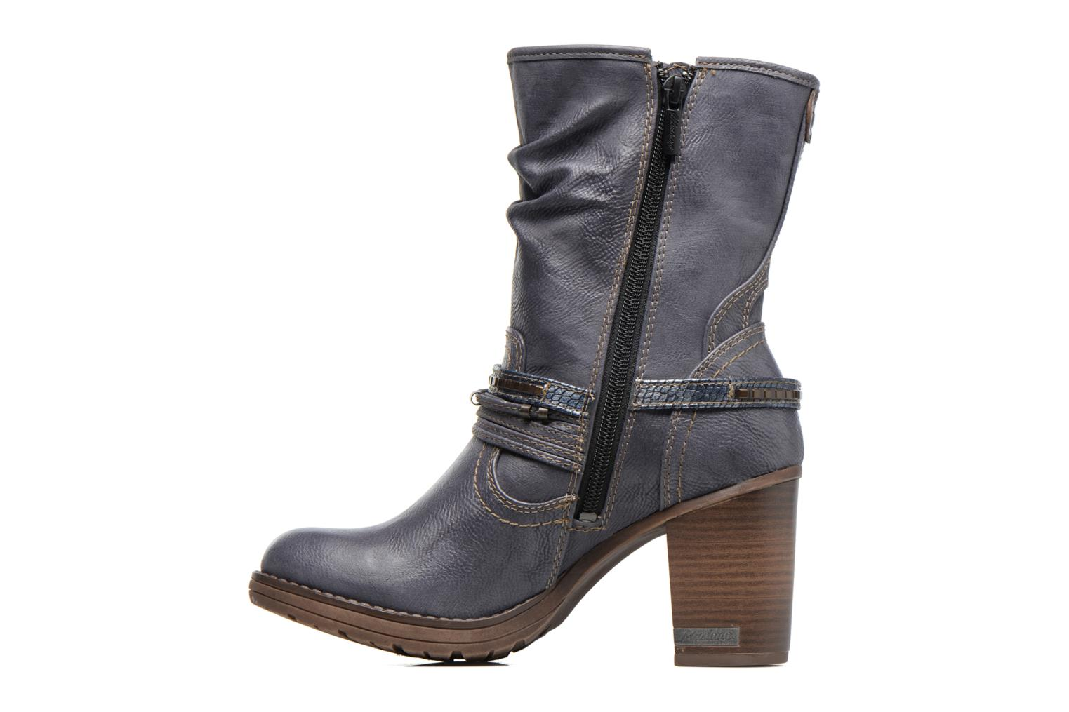 Boots & wellies Mustang shoes Taia Blue front view