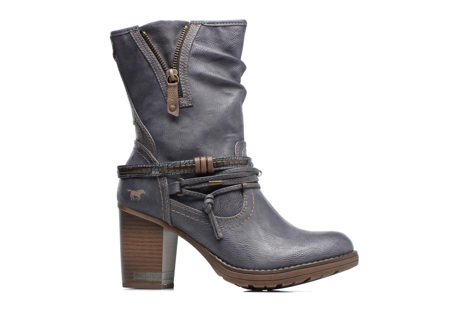 Boots & wellies Mustang shoes Taia Blue back view