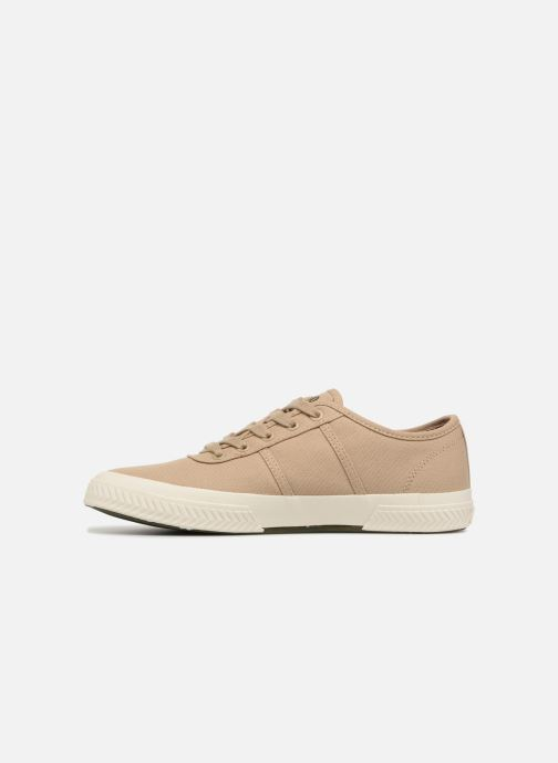 Baskets Polo Ralph Lauren Tyrian Beige vue face