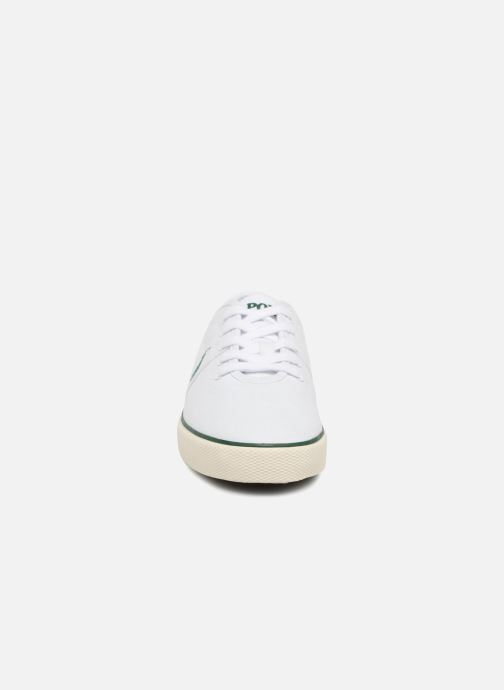 Baskets Polo Ralph Lauren Halford Blanc vue portées chaussures