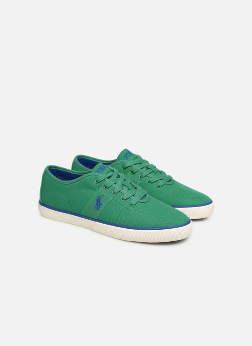 Trainers Polo Ralph Lauren Halford Green 3/4 view