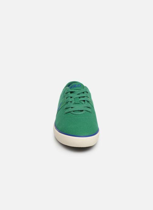 Baskets Polo Ralph Lauren Halford Vert vue portées chaussures