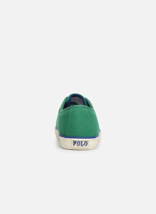 Baskets Polo Ralph Lauren Halford Vert vue droite