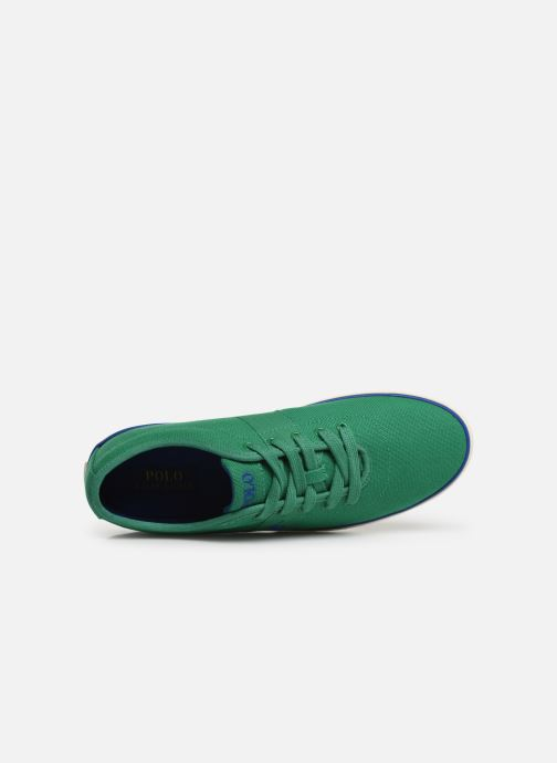 Trainers Polo Ralph Lauren Halford Green view from the left