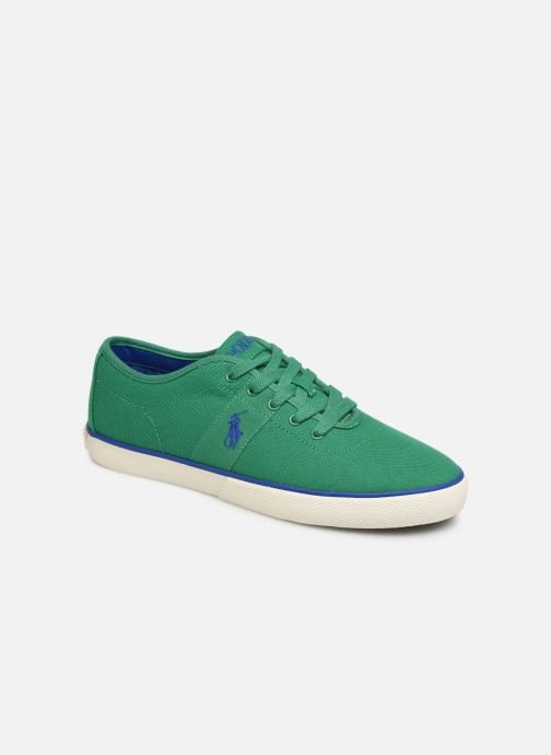 Trainers Polo Ralph Lauren Halford Green detailed view/ Pair view