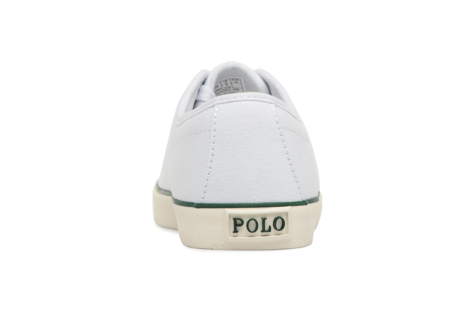 Trainers Polo Ralph Lauren Halford White view from the right